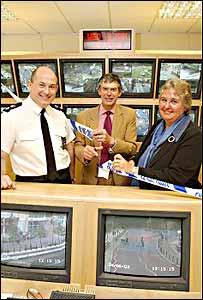 The CCTV centre