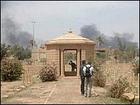 The mausoleum of Sir F Stanley Maude - the conqueror of Baghdad in 1917