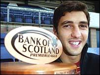 Young Dundee defender Zurab Khizanishvili