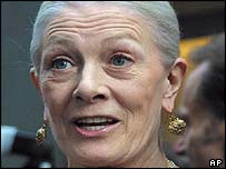 Vanessa Redgrave at the ceremony
