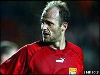 Macedonia midfielder Artim Sakiri