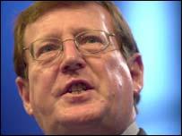 Ulster Unionist leader David Trimble