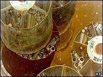 North Korean fuel rods