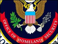 Department of Homeland Security seal, AP
