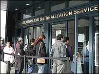 Immigrants queue up to register in San Francisco