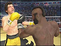 Rocky game screenshot