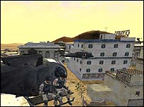 Black Hawk Down screenshot, Novalogic