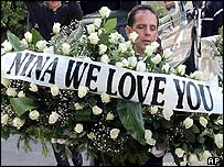 Nina Simone's funeral