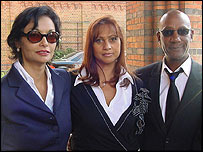 Shakira Caine (l) and Errol Brown (r)