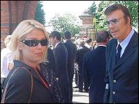 Kim Wilde with father Marti