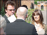Paul Young with wife
