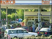 Sainsbury's petrol