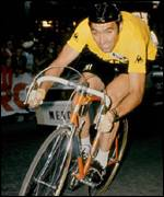 Eddy Merckx, in yellow of course