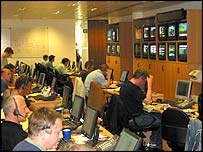 The Betfair office