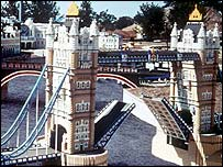 Legoland's Tower Bridge