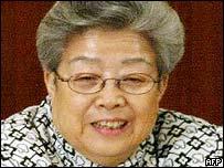 Chinese Vice Premier Wu Yi
