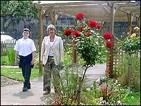 Spa School garden