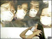 Hong Kong poster campaign about Sars