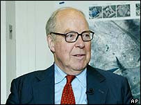 The UN chief weapons inspector Hans Blix