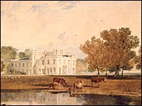Turner's Chalfont House from the South West was found last year in a private collection