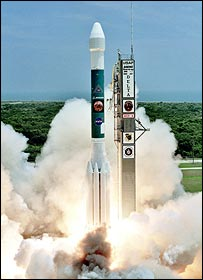 Delta launch, Boeing/Bailie