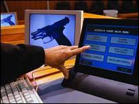 A computerised US court