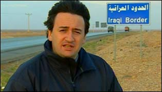 Fergal Keane on the Iraqi border