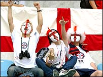 Japanese fans of English football