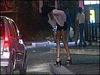 Many prostitutes in Italy come from Albania