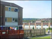 Council housing, Plas Madoc, Wrexham
