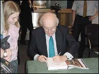 James Watson and young scientist
