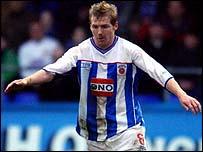 Hartlepool striker Richie Humphreys