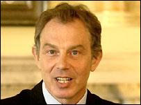 Y Prif Weinidog Tony Blair