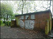 Public toilet in Manchester's Whitworth Park