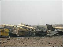 Frog-7 missiles at US Army-run munitions dump