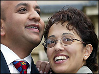 Jay and Trupti Patel leave Reading Crown Court