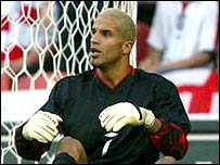 David James was at fault for the Slovakia goal