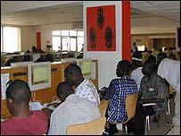 BusyInternet cafe, Accra