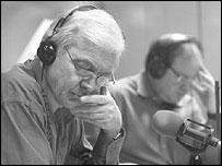 John Humphrys (left)