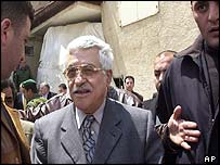 New Palestinian Prime Minister Mahmoud Abbas