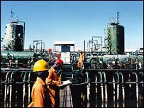 Shell's Ekulma flow station