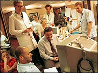 The Office production shot