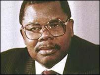 Tanzanian President Benjamin Mkapa