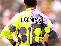 Jorge Campos of Mexico