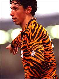 Hull City's kit of 1992