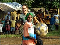 Angelina Jolie on her trip to Tanzania
