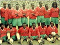 The 'Squirrels,' Benin's national team