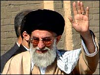 Ayatollah Khamenei, Iran's conservative religious leader