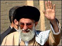 Ayatollah Khamenei, Iran's conservative religious leader