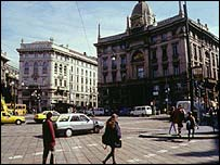 Milan street scene